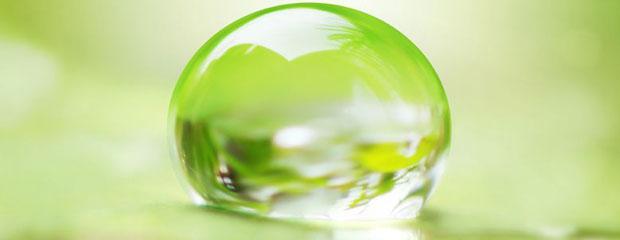 derecho medioambiental naturaleza protección verde gota agua
